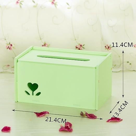 Storage Box European Creative Papel Toalla Caja de Sala de ...