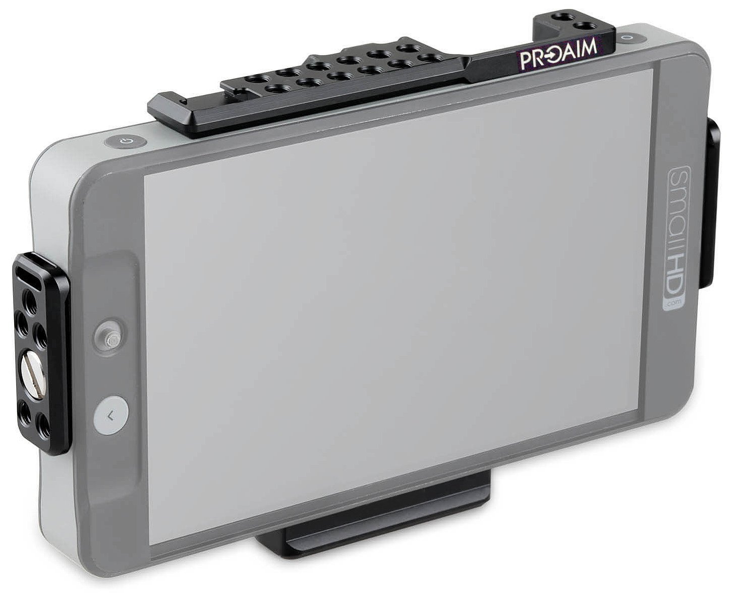 Proaim HDMI Director's Monitor Cage for V-Mount Battery Plate SmallHD 701 LITE, 702 LITE and 702 BRIGHT