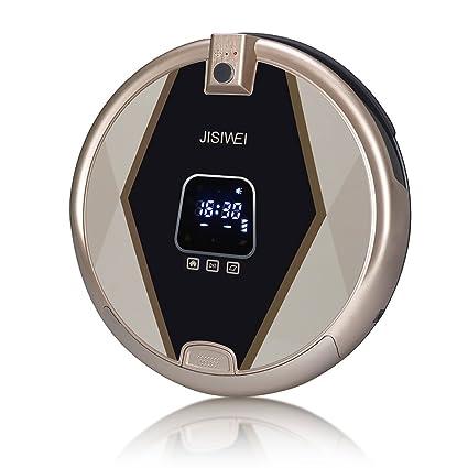 JISIWEI S+ Robot Aspirador Inteligente, con cámara HD de seguridad 1080p, Control Remoto por