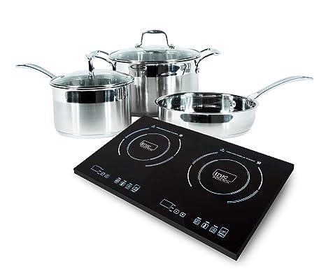 Amazon.com: Cocina portátil True Induction 2 con 5 ...