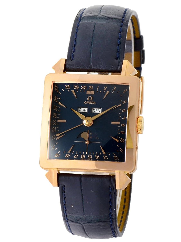[オメガ] OMEGA 腕時計 ミュージアムコレクション コスミック 5701.80.03 K18RG/レザー 自動巻き [中古品] [並行輸入品] B01M6WLE6I