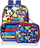 Mickey Mouse Boys School Backpack Lunch Box Book Bag Combo SET