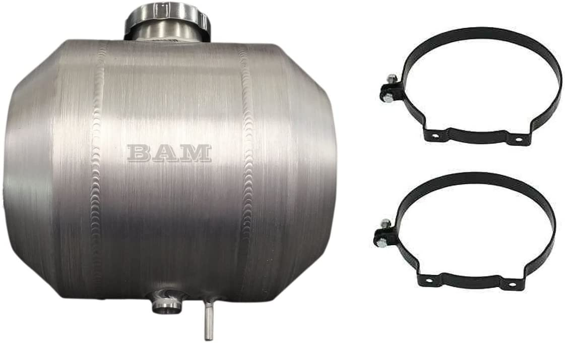8x12 Center Fill Spun Aluminum Gas Tank 2.5 gal Tractor Pull Rat Rod 3//8 NPT
