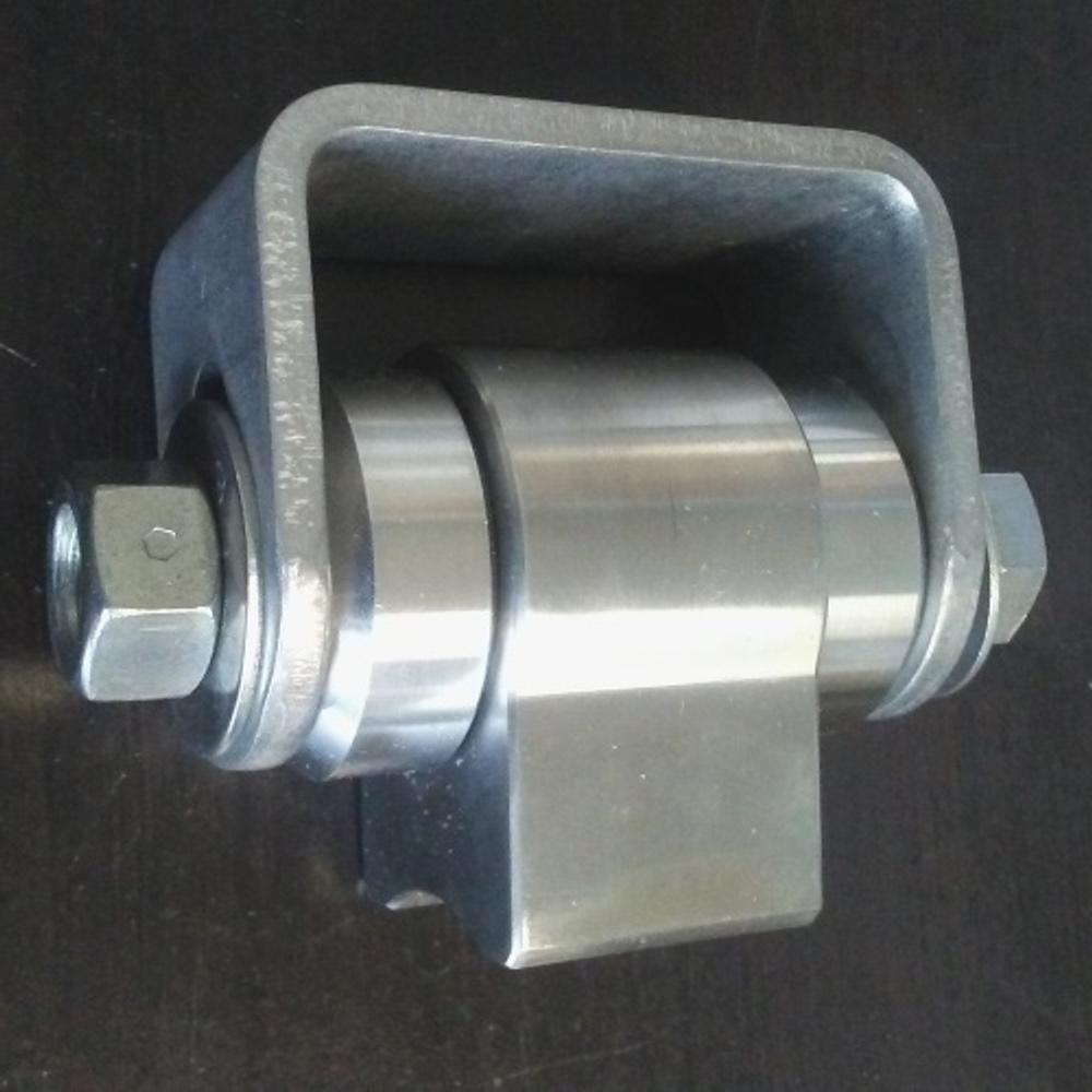 Pair of Adjustable Heavy Duty Hinges, Weld-on - Unpainted (Steel)