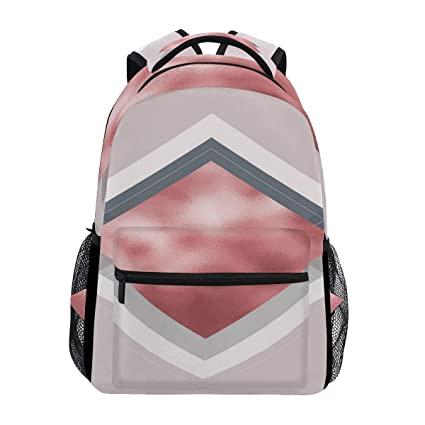 8094df1d72ae Amazon.com: Rose Gold Balloons Trekking Backpack Fashion Backpack ...