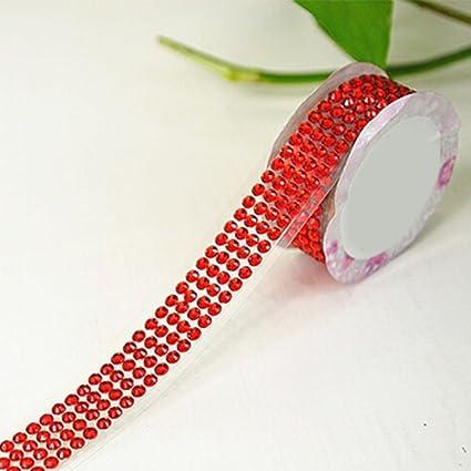 DIY Self-Adhesive Acrylic Rhinestones Stick on Scrapbooking Craft Sticker  Tape Washi Tape 69098acc0869