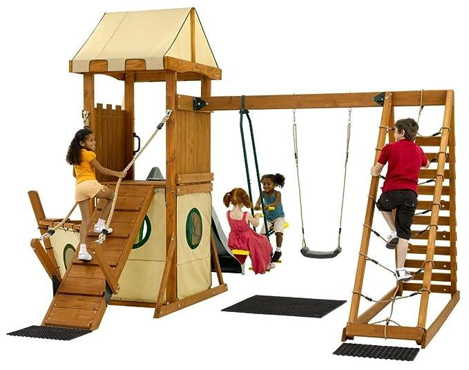 Plum Klettergerüst : Plum products endeavour holz klettergerüst outdoor play centre