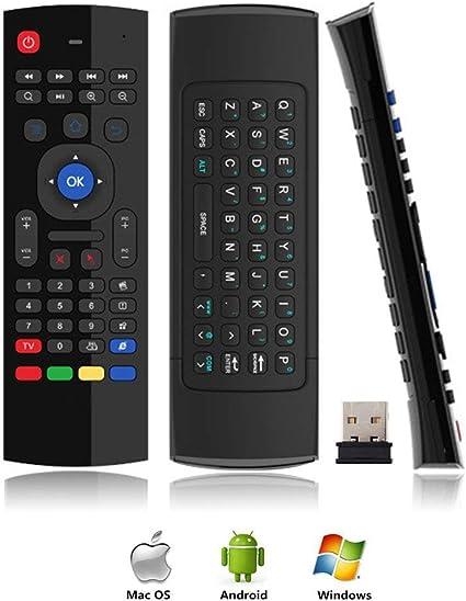 Amazon.com: Gimibox MX3 Pro - Ratón de aire para Android TV ...