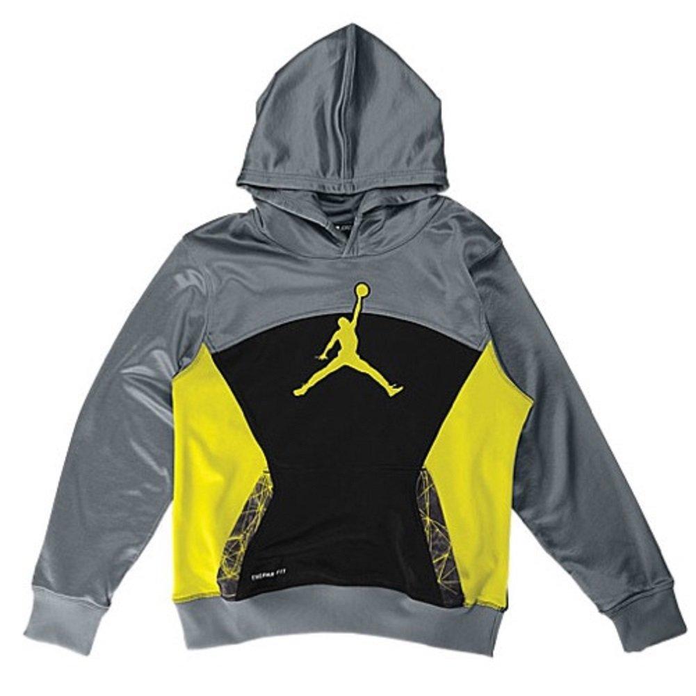 Jordan S. Flight Pullover (7, Cool Grey)