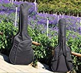 41-inch Ballad Premium Cotton Guitar Bag Thickened Shoulder Backpack Bag Guitar Bag Portable Bag-protective Cover For Classical And Electric Guitar 41 inch B