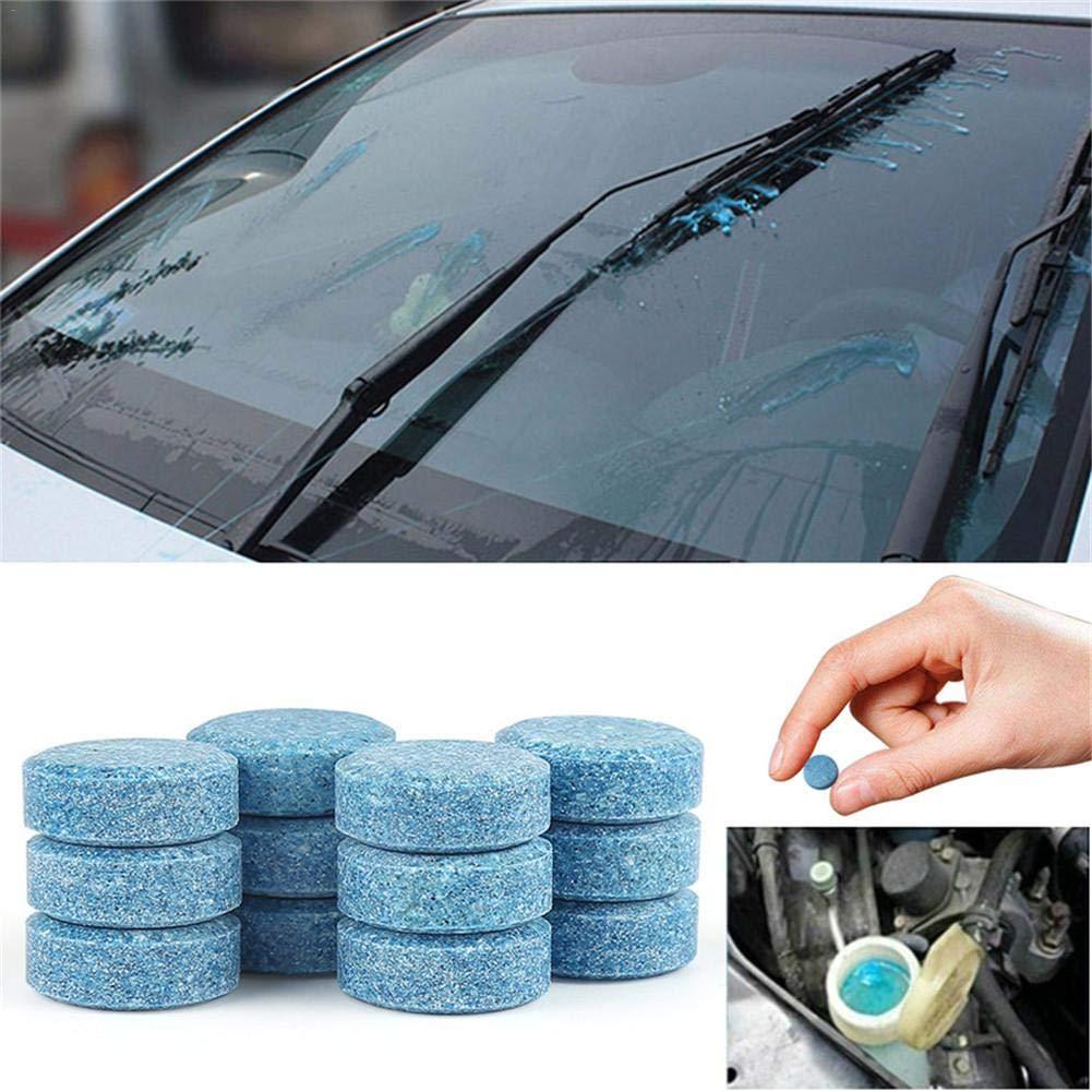 Navigatee tabletas efervescentes 20 Piezas - Limpiador sólido súper Concentrado, limpiavidrios para automóviles, Limpiador Multifuncional para Cocina, baño, ...