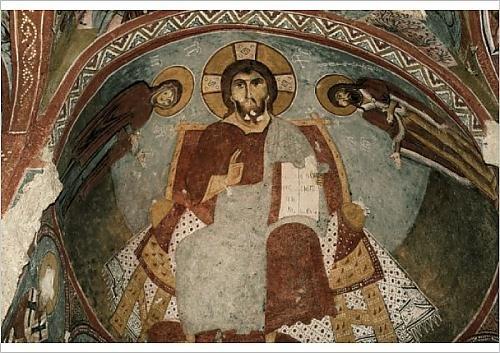 in Robert der mit A1 Poster Sandalenkirche christlichen Harding Fresken 1214421 Oxx0Y