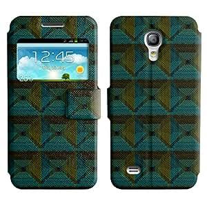 LEOCASE diamante lindo Funda Carcasa Cuero Tapa Case Para Samsung Galaxy S4 Mini I9190 No.1006060