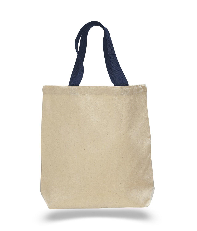 絶対一番安い (Set of ネイビー 12) (Set 12 Pack- Wholesale by Cotton Canvas Gusset and Contrasting Handles Tote Bag (Black) by ToteBagFactory B010RBDVQG ネイビー ネイビー, ホーネットイトウ質店:a9e87f45 --- mail.consumer1st.in