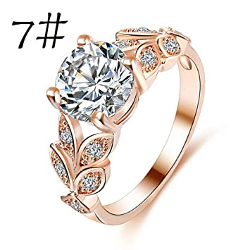 flower wish c cocktail love gold s golden ring rose silver proposal diamond sterling tone butterfly party floral jewelry large rings romantic gift two women