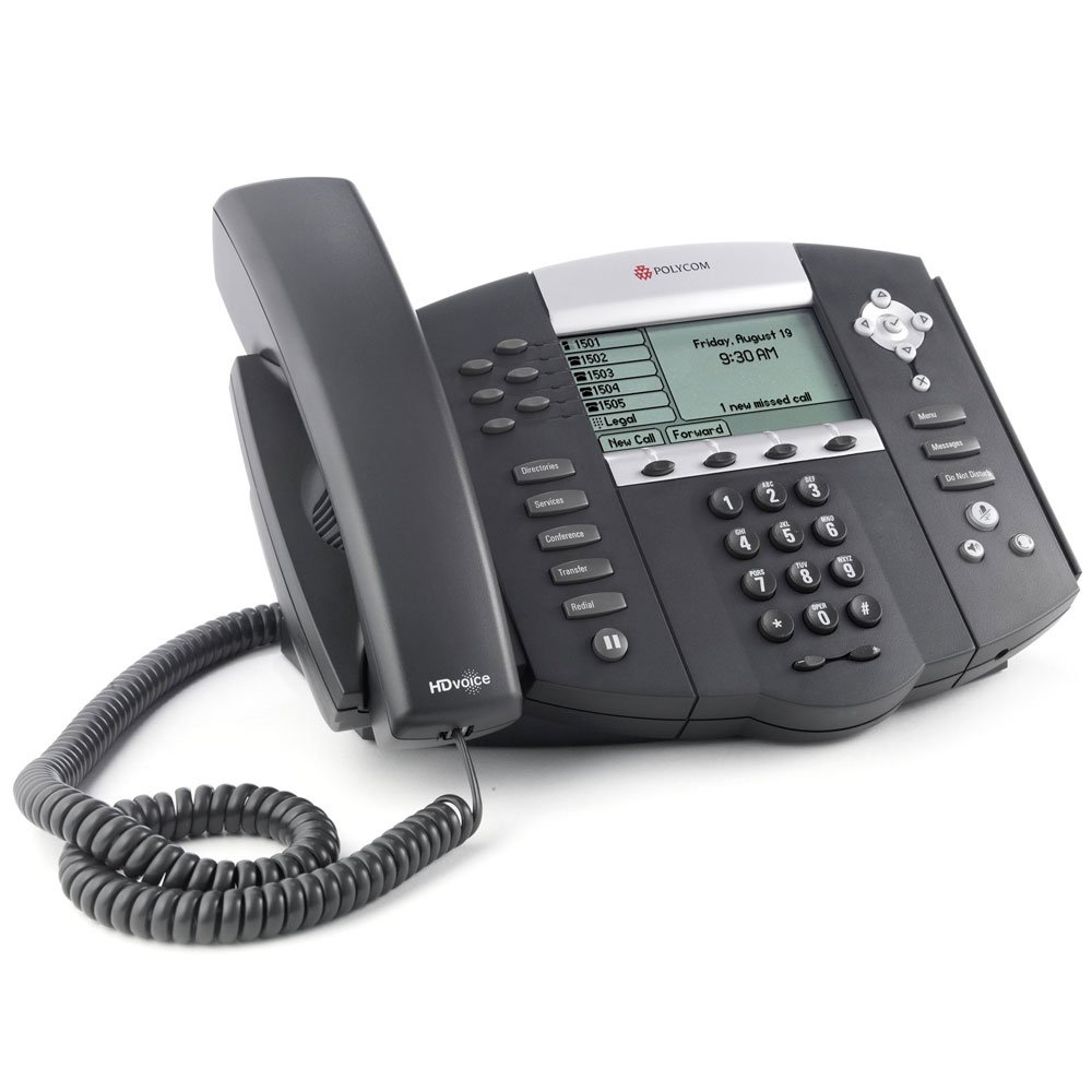 Polycom SoundPoint IP 650 VoIP Phone (Certified Refurbished)