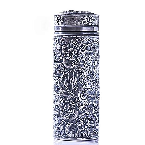 Botella Con Aislamiento De Agua 999 Kowloon Cup Silver ...