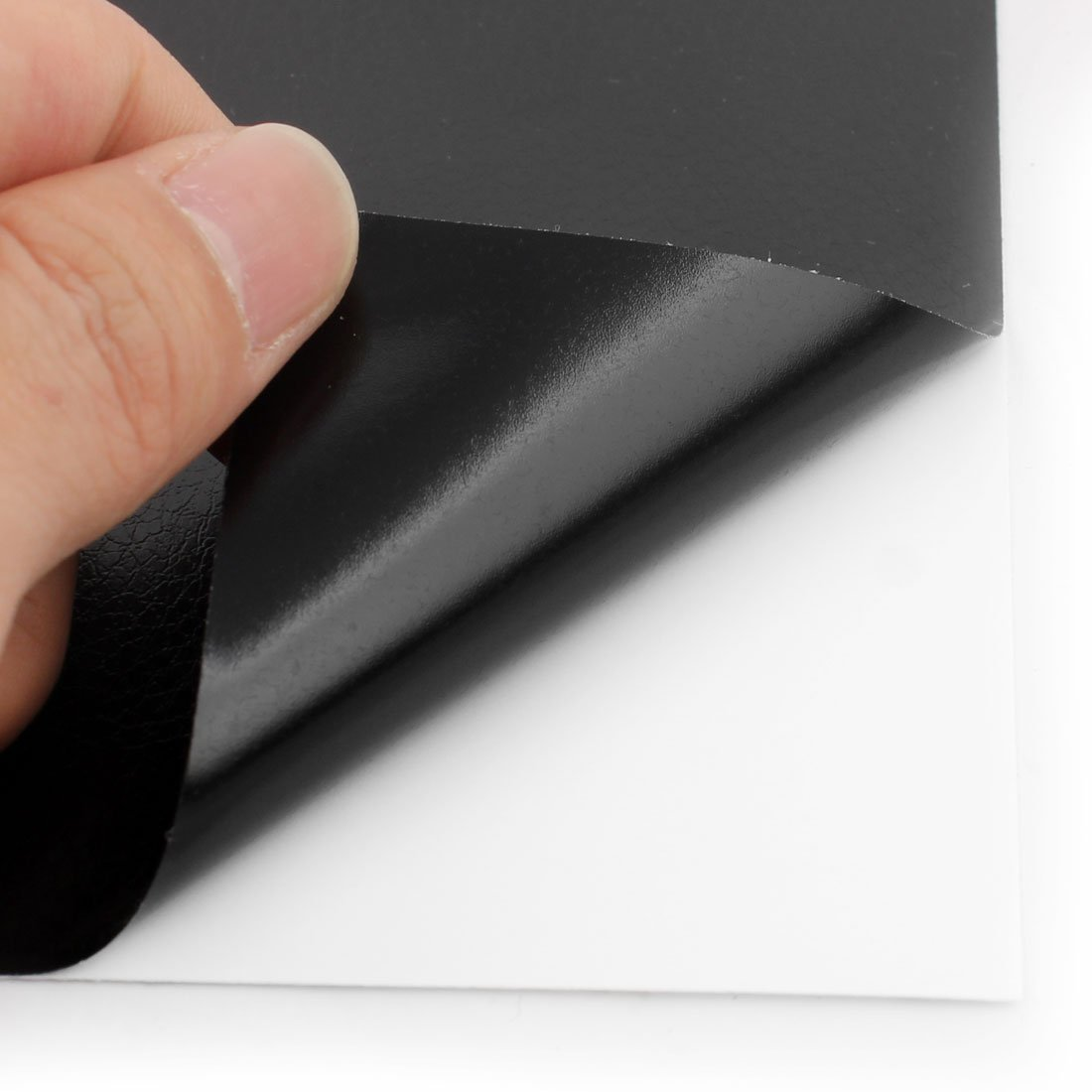 Amazon.com : eDealMax Negro PVC adhesivo Protector DIY Volver ...