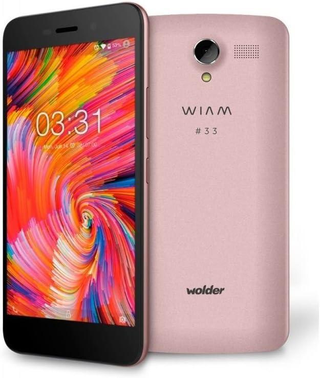 Wolder Smartphone WIAM #33 Pink - 5.5/13.9CM HD IPS: Amazon.es: Electrónica