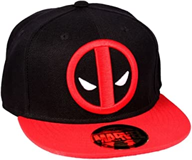 Marvel Casquette Snapback Deadpool-Legend Icon Gorra, Negro, Talla ...