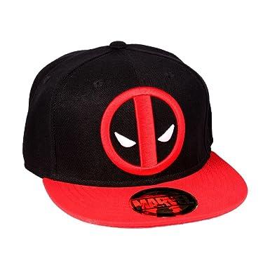 81f88d161 Marvel Deadpool Cap Snapback Black Onesize: Amazon.co.uk: Clothing