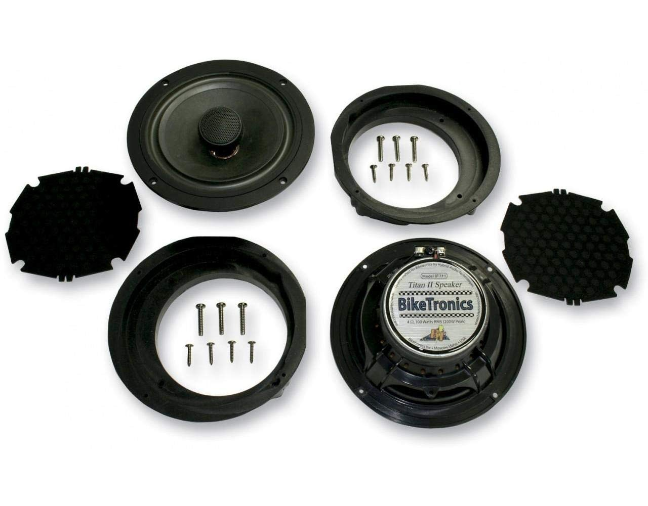 3. Biketronics Titan II 7.1in. Speaker BT7P1