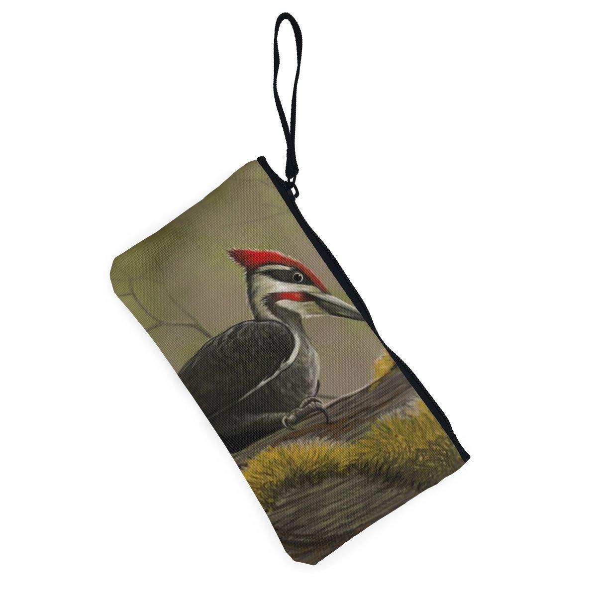 YUANSHAN Rock Sunset Unisex Canvas Coin Purse Change Cash Bag Zipper Small Purse Wallets with Handle