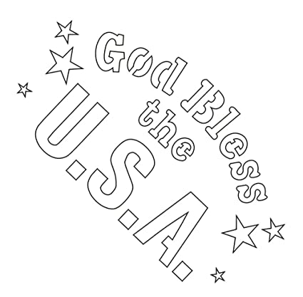 Badger 22 747 Totally Tattoo Body Art Stencils God Bless The Usa Amazon In Electronics