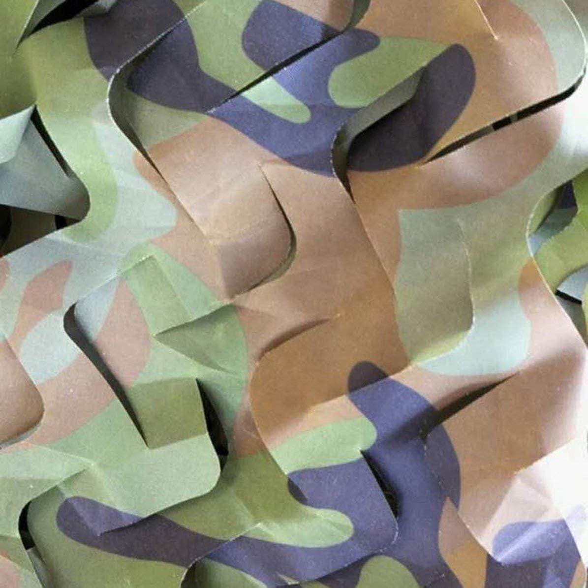 Verpackt in OPP Taschen Sunnyflowk Tarnnetz Army Military Camo Net Autoabdeckzelt Jagdjalousien Netting Optionale Gr/ö/ße Lange Abdeckung Verbergen Drop Net Dschungel Gr/ün 0,5 * 1 m