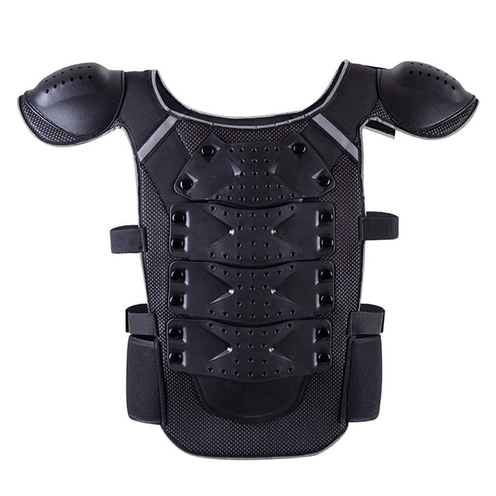 TZTED Schutzausrüstung Motorrad Weste Kind mit Rückenprotektoren für Riding, Skating, Roller, Skifahren, Snowboard