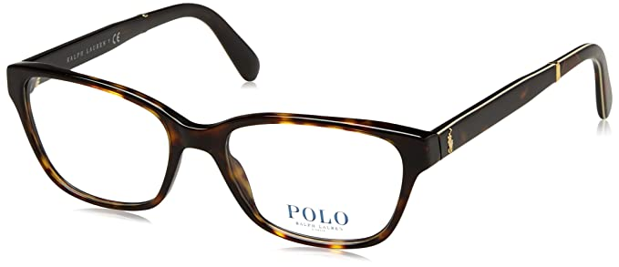 7240f7e143 Polo Ralph Lauren 0PH2165, Monturas de Gafas para Mujer, Marrón (Dark  Havana), 53: Amazon.es: Ropa y accesorios