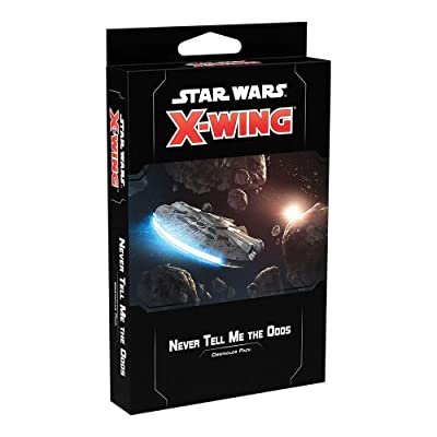 FFG Star Wars X-Wing: 2nd Edition - Never Tell Me The Odds Obstacles Pack: Toys & Games