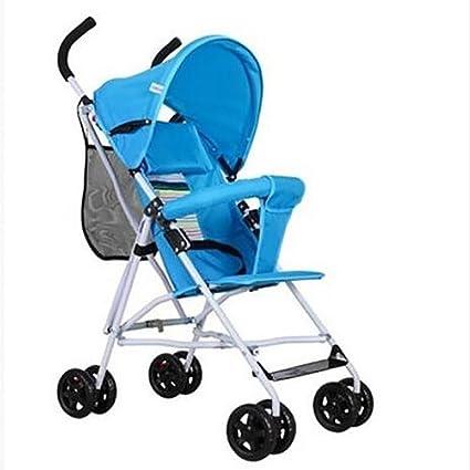 GUO Ultraligero portátil cochecito de bebé plegable carro ...