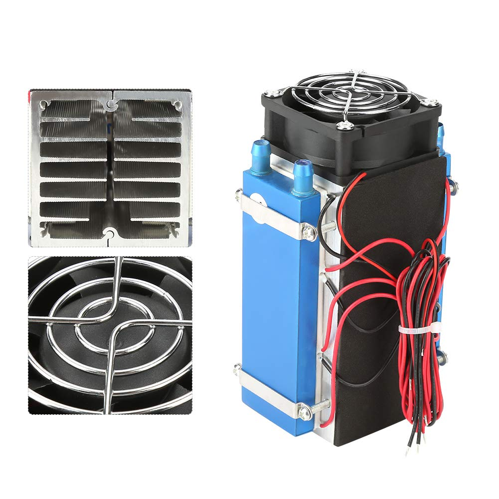 6 chip Cooler Semiconductor Cooling System,Semiconductor Cooler Kit DIY Refrigerator Cooler DIY Cooling System Semiconductor Cooler DC 12V 4//6 Chip Refrigeration Machine DIY Air Cooling System Device