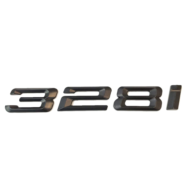 318i Rear 3D Sticker Emblem Badge for BMW 316i 318i 320i 323i 325i 328i 330i 335i SUKRAGRAHA Replacement Model No