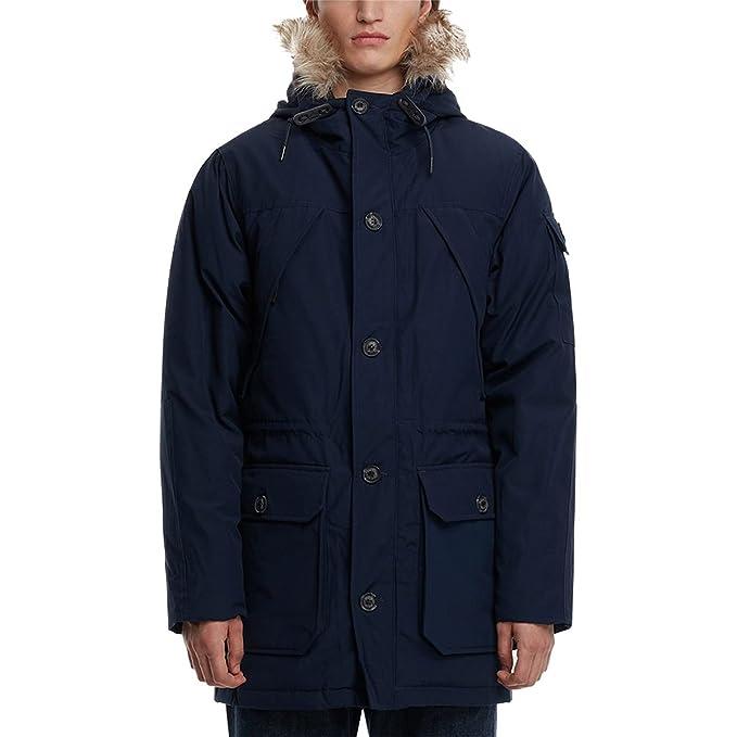 Penfield Hoosac Faux Fur Hooded Down Mountain Parka Men's