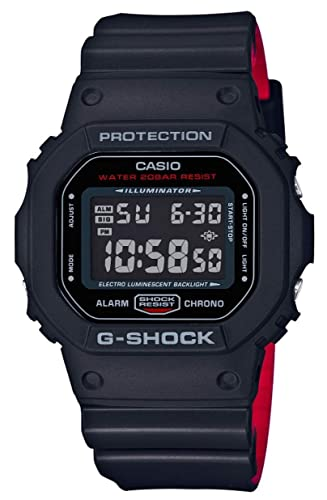 173fcc06435a Casio G-SHOCK DW-5600HRGRZ-1ER reloj digital  Amazon.es  Relojes