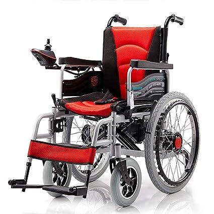 Silla Chair 2 Eléctrica Plegable Ruedas De Doble Motor Con N8wm0nv