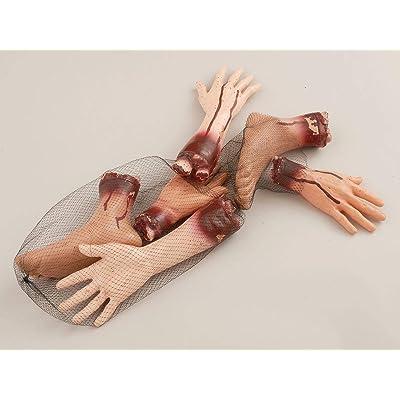 Forum Novelties Bag of 6 Body Parts Party Decoration: Toys & Games