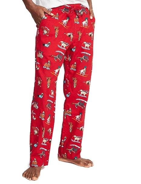 Amazon.com: Antiguos pantalones de franela para dormir para ...
