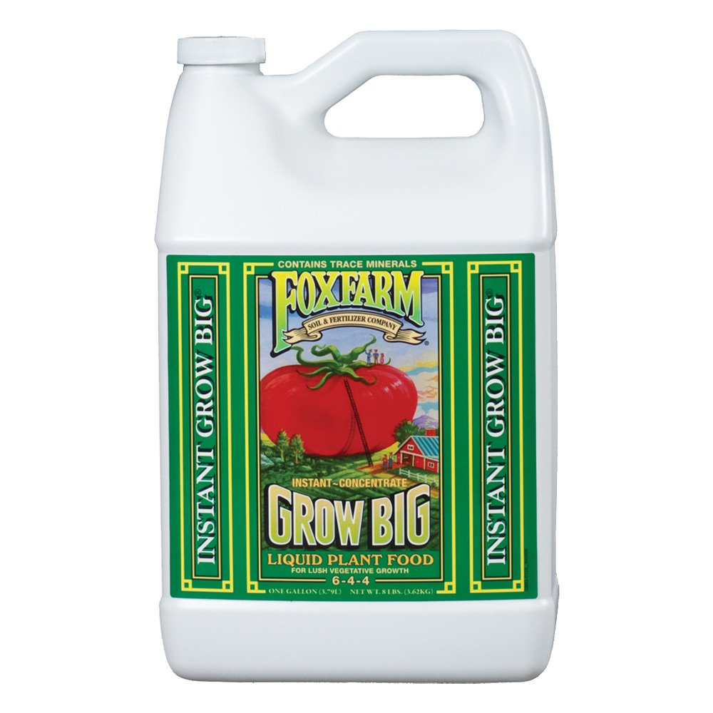 Fox Farm Liquid Nutrient Trio Soil Formula: Big Bloom, Grow Big, Tiger Bloom (Pack of 3 - 1 Gallon Bottles) + Twin Canaries Chart & Pipette by Fox Farm (Image #4)