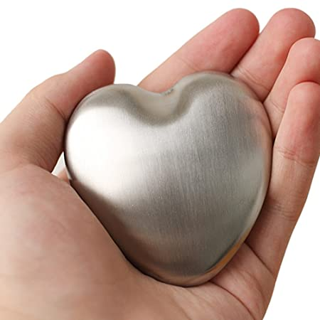 kingzhuo Protable Magic jabón olor Remover jabón forma de corazón ...