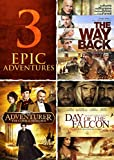 Adventurer, Day of the Falcon, The Way Back Triple Feature
