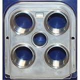 Dillon Precision 13909 550 B Toolhead Tool Head RL550B Four Die Holder RL 550B