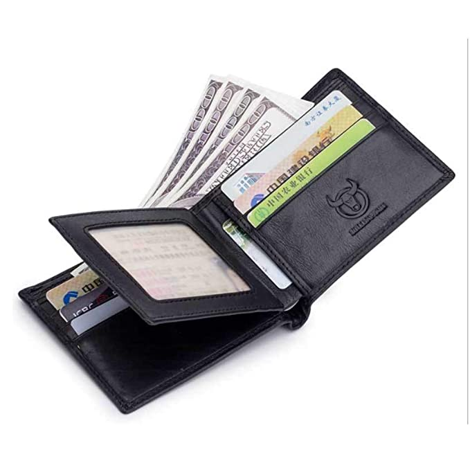 GHC Billetera y monedero Billetera de cuero para hombre ...