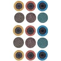 Yuhtech Roloc Discos de lija, 15 unidades