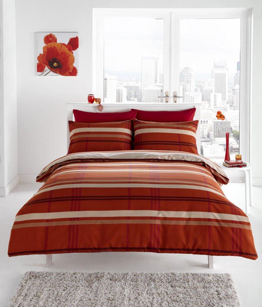Bed Linen Duvet Covers Terracotta Sweetgalas