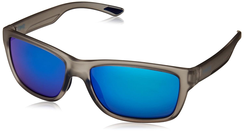 Smith Harbour Z0 Fre 58, Gafas de sol para Hombre, Gris (Matt Grey/Ml. Blue),