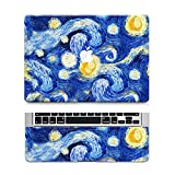 "Laptop Sticker ''NIGHT DREAMS"" with Free Track Pad Decal 