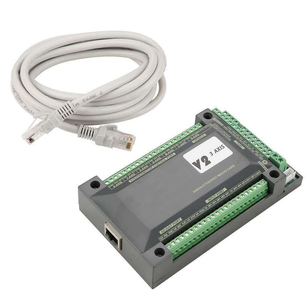 Module de Commande de Mouvement MACH3 pour Contr/ôleur Ethernet CNC 3 axes NVEM pour moteur pas /à pas